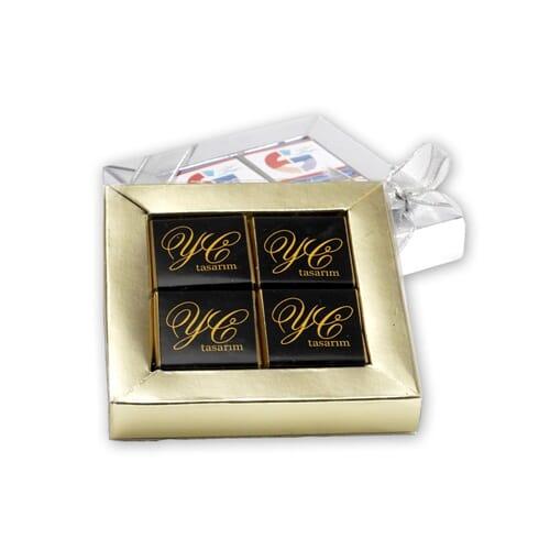 Logolu Çikolata Tanıtımın Tatlı Yolu